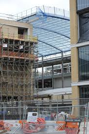 pics partially open glass roof will allow westgate shoppers to