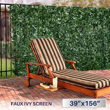 amazon com windscreen4less artificial faux ivy leaf decorative