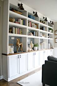 diy kitchen cabinets book the office diy built ins started from thrifty decor