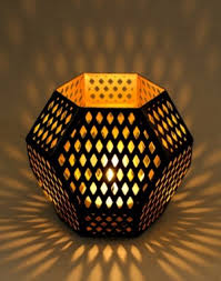 metal tea light holders tea light holder hexagon metal tlite holder online shopping india