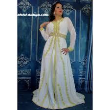 robe mariage marocain modele caftan blanc de mariage marocain 2016