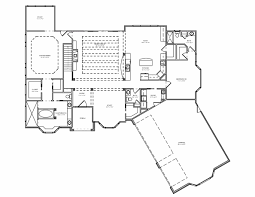 Four Bedroom House Floor Plans by Decor Remarkable Ranch House Plans With Walkout Basement For Home