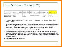 acceptance test report template uat testing template excel calendar template excel