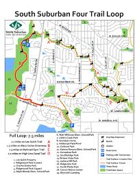 Colorado Springs Trail Map by Trail Loops