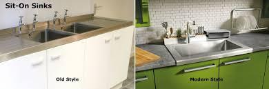 Weizter Kitchens How To Buy The Right Kitchen Sink - Sit on kitchen sink