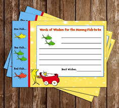 Words Of Wisdom Cards Novel Concept Designs Dr Seuss One Fish Two Fish New Fish