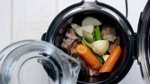 cuisine fond blanc how to fond blanc white beef stock in a pressure cooker