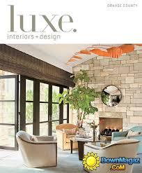 Interior Designer Orange County by Luxe Interior Design Orange County Spring 2013 Download Pdf