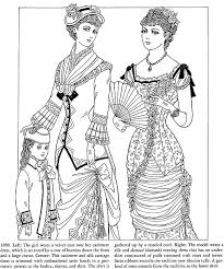 victorian coloring pages women u0027s dress ladies victorian dress