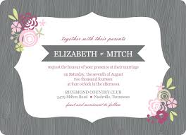Wedding Announcement Template Framed Wedding Invitation Template Best Template Collection