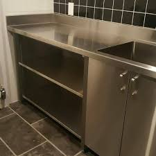 metal kitchen sink cabinet for sale stainless steel fab custom metal sales and service