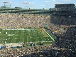 Lambeau Field Map Packers Bengals Game Could Be Hottest Ever At Lambeau Field