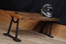 Table De Salon Industrielle by Banc Ou Table Industriel Table Or Industrial Bench 2 Chance Deco