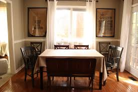 Window Treatments For Dining Room Decorating Ideas Killer Dining Room Decoration Using Black Metal