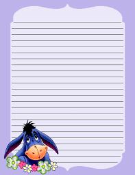 98 winnie pooh stationary printable images