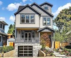 front sloping lot house plans plans sloping lot house plans craftsman stately for sloped prev