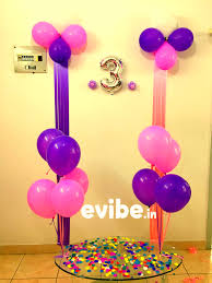 Home Balloon Decoration by Top 8 Simple Balloon Decorations For Birthday Party At Home In