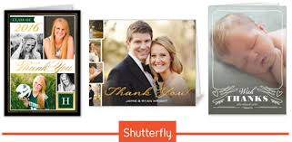 shutterfly 12 free thank you cards