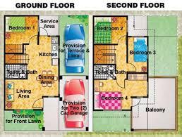 House Design Floor Plan Philippines 2 Storey House Floor Plans Philippines House Plans