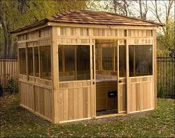 backyard creations 10 10 gazebo outdoor furniture design and ideas