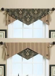 kitchen curtain valances ideas button detail patterns window and valance