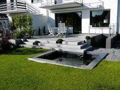 garten und landschaftsbau ingolstadt moderne gartengestaltung beispiele pool kies liege bäume