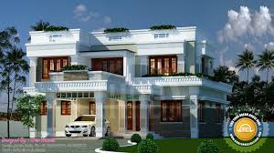 House Plans 2500 Square Feet by 2500 Square Feet Contemporary Style Kerala House Elevation Ideasidea