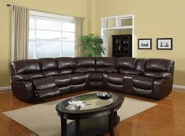 Reclining Sofa Bed Sectional Furniture Amazing Leather Reclining Sectional Sofa Design