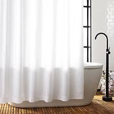 White Shower Curtains Unique Modern Shower Curtains Cb2