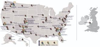 Spokane Washington Map Performance Locations