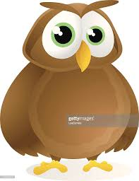owl cartoon vector art getty images