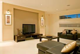 minimalist family rooms design ideas in beige color creating a