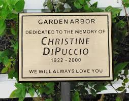 garden plaques bronze memorial marker garden plaque sacred engraving