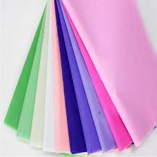 gift tissue paper 20pcs lot colored wrapping paper for diy wedding flower decor 50