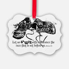running ornament cafepress