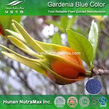 100 natural food coloring gardenia blue color pigment powder