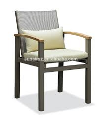 Stackable Aluminum Patio Chairs by Teak Aluminum Outdoor Furniture Teak Aluminum Outdoor Furniture