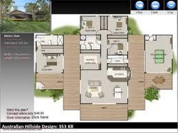 home design stores australia australian dream hillside home design book split level house plans