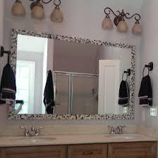 framed bathroom mirrors ideas bathroom cabinets brilliant bathroom vanity mirrors decoration