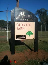 the mustang park city city park city of mustang oklahoma
