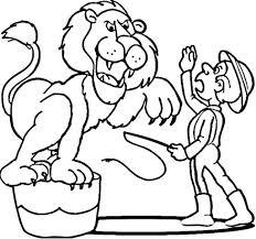 circus animals coloring sheets