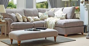 Small Corner Sectional Sofa Living Room With Small Corner Sofa In Grey Color And Wall Colors