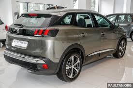 first peugeot first look 2017 peugeot 3008 suv walk around image 699058