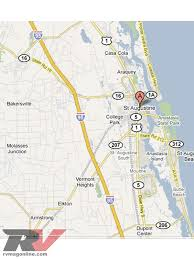Flordia Map St Augustine Florida Great Escapes Photo U0026 Image Gallery