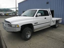 Dodge Ram Good Truck - 1997 dodge ram 2500 4x4 ext cab pu cummins auto flatbed 233k