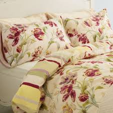 bedroom charming laura ashley bedding in cream with flowers motif