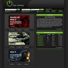 epic gaming gaming template by magicgfx on deviantart