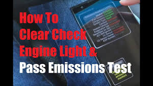 will a car pass inspection with check engine light on how to clear check engine light and pass emissions test under 20