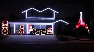 Christmas House Light Show by Slayer Christmas Lights 2013 Youtube