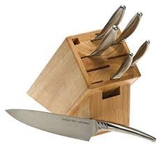kershaw kitchen knives amazon com kershaw 7700 series 7 piece block set block knife sets